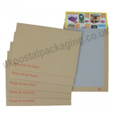 Board Backed Envelopes, Manilla, C4 - Box of 125