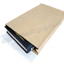 EzePack, Paper Mailing Bags, 190 x 50 x 300mm, Peel & Seal Flaps - Pack of 20