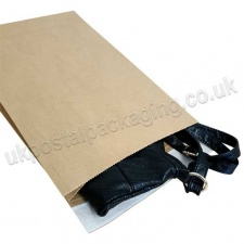 EzePack, Paper Mailing Bags, 260 x 70 x 410mm, Peel & Seal Flaps - Pack of 20