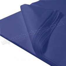 Dark Blue MG Tissue Paper, 450 x 700mm, 17gsm - Pack of 480 sheets