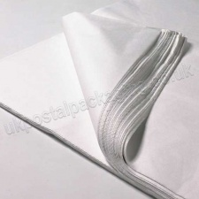 Snow White MG Tissue Paper, 450 x 700mm, 14gsm - Pack of 480 sheets