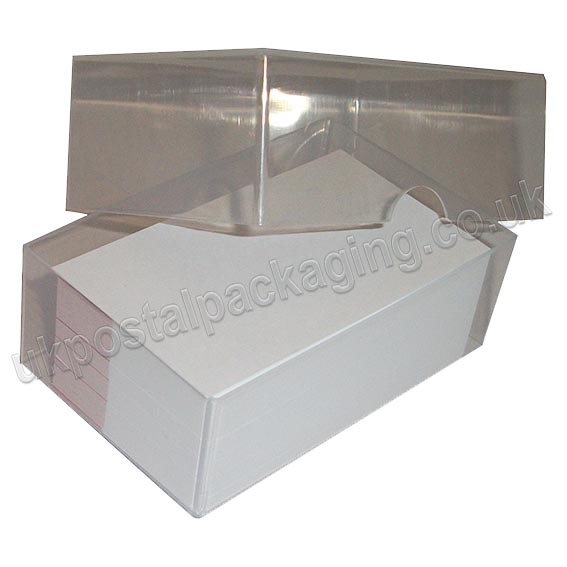 Clear plastic business card boxes uk postal packaging clear plastic business card boxes colourmoves