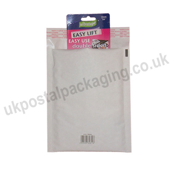 EzePack, White Bubble Lined Padded Bags, Size C/0