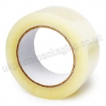 Clear Polypropylene Acrylic Packaging Tape, 48mm x 66m