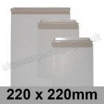 All Board Envelopes, 220 x 220mm - Box of 200