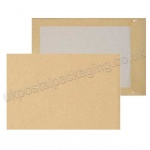 Board Backed Envelopes, Manilla, C5, Plain - Box of 125