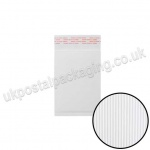 EzePack, White Corrugated Padded Bags, Internal Size 165 x 100mm (A/000)