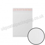 EzePack, White Corrugated Padded Bags, Internal Size 215 x 150mm (C/0)