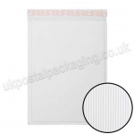 EzePack, White Corrugated Padded Bags, Internal Size 340 x 240mm (G/4)