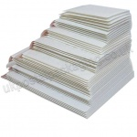 EzePack, White Bubble Lined Padded Envelopes, Assorted Pack of 40