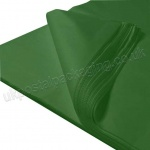 Dark Green MG Tissue Paper, 450 x 700mm, 17gsm - Pack of 480 sheets